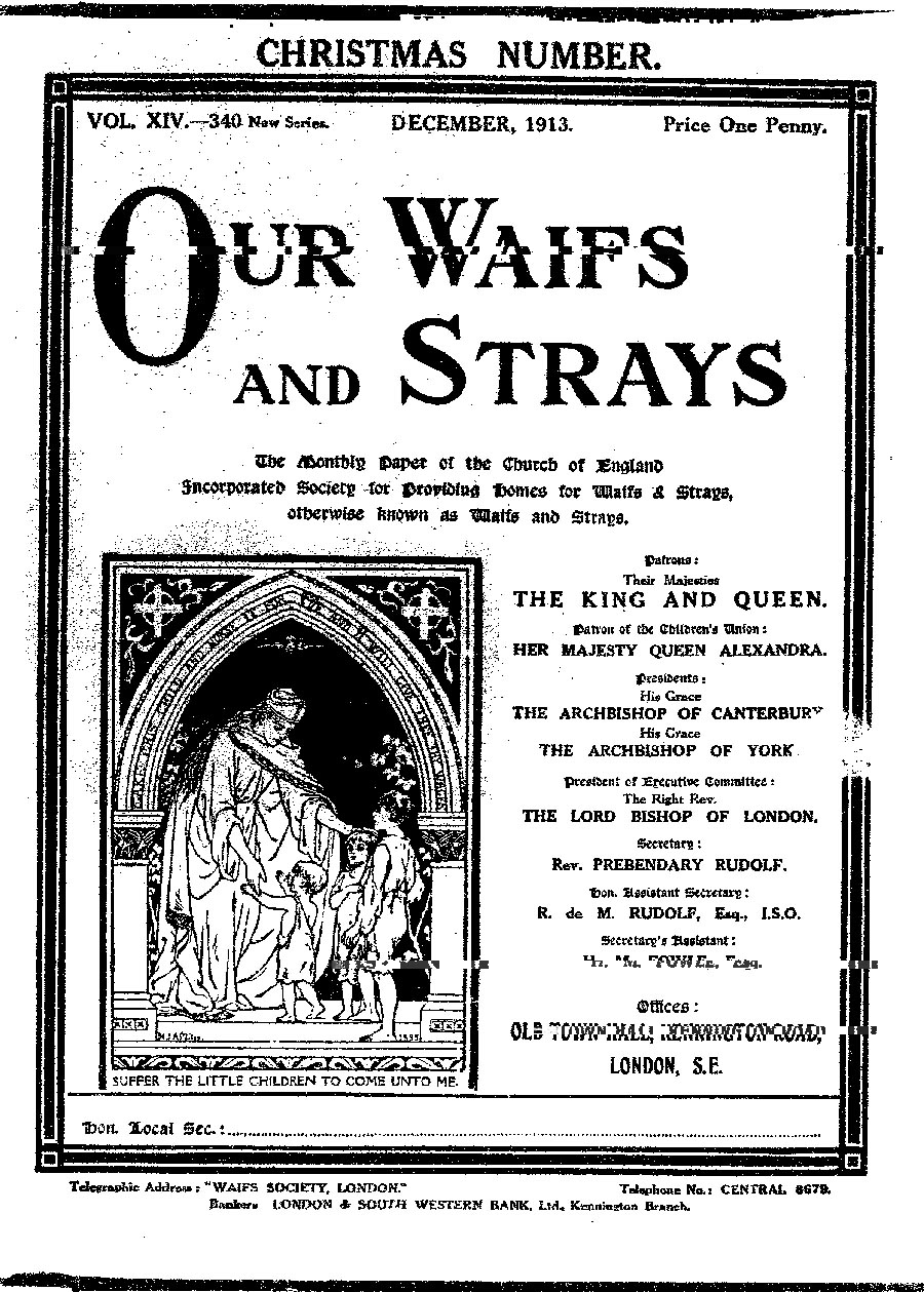 Our Waifs and Strays December 1913 - page 260