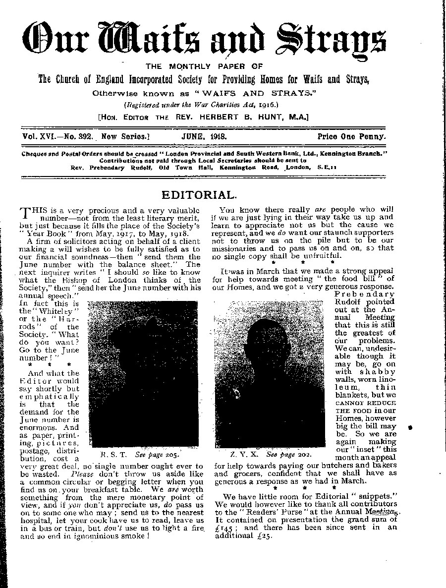 Our Waifs and Strays June 1918 - page 59
