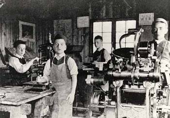 Print workshop 1893