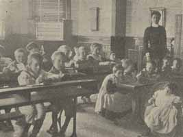 Bradstock Lockett specialised in the care of children with disabilities, and the Society recognised that a good education was important for all members of society. Today we would automatically think the same, but in the Victorian and Edwardian period this was revolutionary.