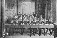 School room at St Lukes, Sussex