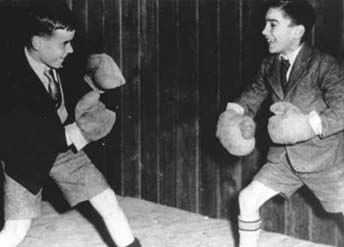 In the 1930s and 1940s, boxing was as popular as football in some parts of the country. Young working-class boys aspired to follow their sporting heroes.