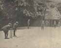 A game of cricket at St Martin's Home