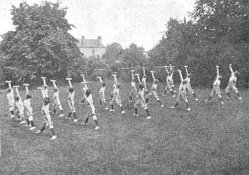 Boy's homes would practice their drills everyday and perform them on special occasions.