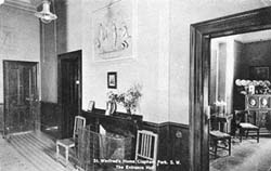 Entrance hall and reception room